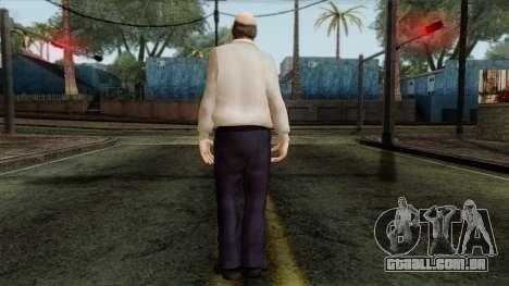 GTA 4 Skin 83 para GTA San Andreas segunda tela