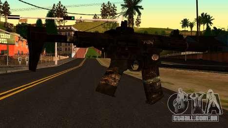 HoneyBadger from CoD Ghosts v2 para GTA San Andreas segunda tela