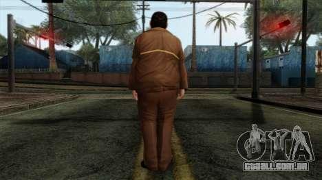 GTA 4 Skin 58 para GTA San Andreas segunda tela