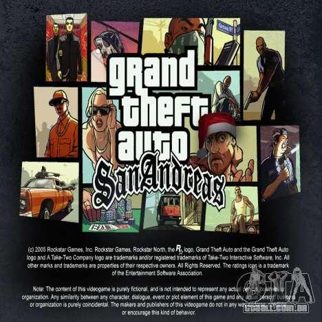 Rádio de ROCK russa para GTA San Andreas
