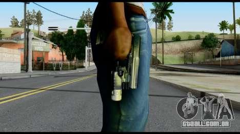 USP from Metal Gear Solid para GTA San Andreas terceira tela