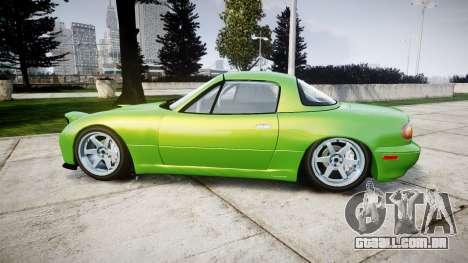 Mazda MX-7 para GTA 4 esquerda vista