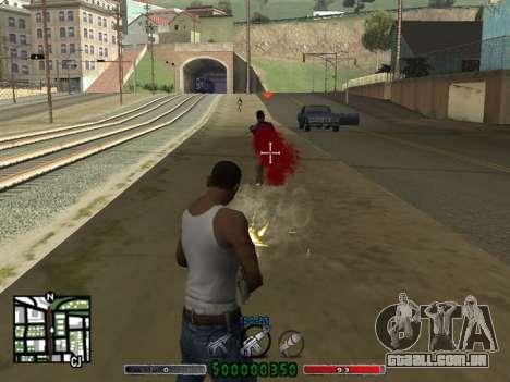C-HUD v2.0 para GTA San Andreas segunda tela