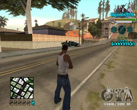 C-HUD for Aztecas para GTA San Andreas