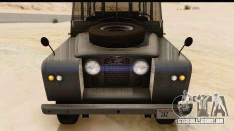 Land Rover Series IIa LWB Wagon 1962-1971 [IVF] para GTA San Andreas vista direita
