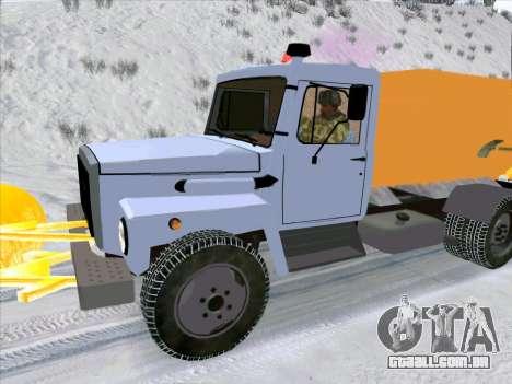 GAZ 3309 Neve para GTA San Andreas vista direita