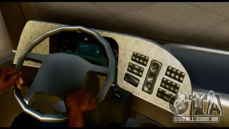 Mercedes-Benz Actros PJ1 para GTA San Andreas traseira esquerda vista
