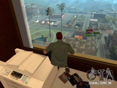 3D HUD CLEO para GTA San Andreas terceira tela