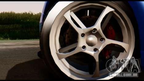 GTA 5 Dewbauchee Rapid GT Coupe [HQLM] para GTA San Andreas traseira esquerda vista