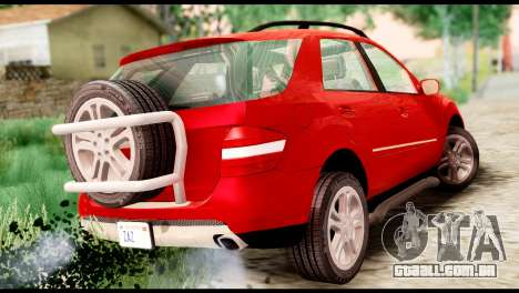 Mercedes-Benz ML500 v.2.0 Off-Road Edition para GTA San Andreas