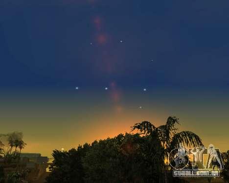 Realista céu (Sky Mod) para GTA San Andreas