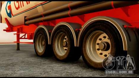Mercedes-Benz Actros Trailer Giraud para GTA San Andreas vista direita
