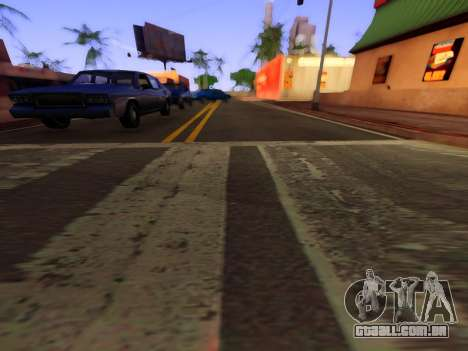 Melhoria da textura de estradas para GTA San Andreas terceira tela