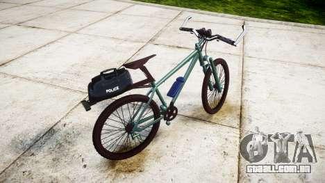 A polícia de bicicleta de montanha [ELS] para GTA 4 esquerda vista