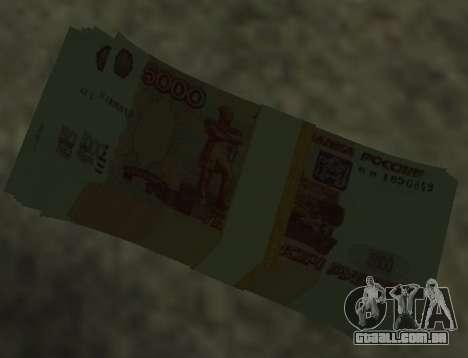 5000 rublos para GTA San Andreas segunda tela