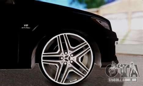 Mercedes-Benz ML63 AMG para vista lateral GTA San Andreas