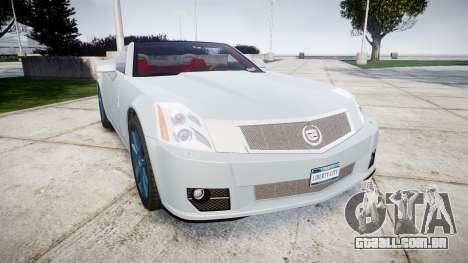 Cadillac XLR-V 2009 para GTA 4