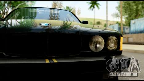 BMW E32 para GTA San Andreas vista direita
