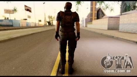 Resident Evil Skin 11 para GTA San Andreas segunda tela
