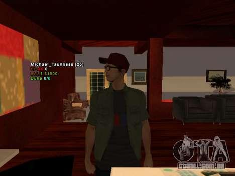 3D HUD CLEO para GTA San Andreas segunda tela