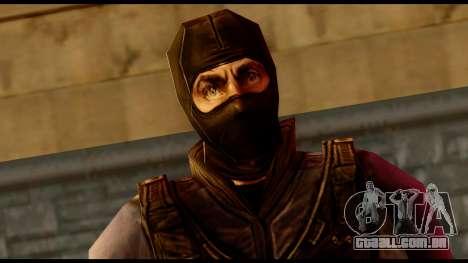 Counter Strike Skin 4 para GTA San Andreas terceira tela