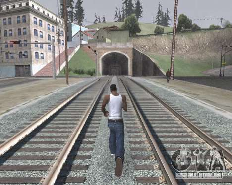 Colormod High Color para GTA San Andreas quinto tela