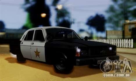 GAZ 3102 Volga - Sheriff para GTA San Andreas