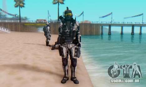 C.E.L.L. Soldier (Crysis 2) para GTA San Andreas quinto tela