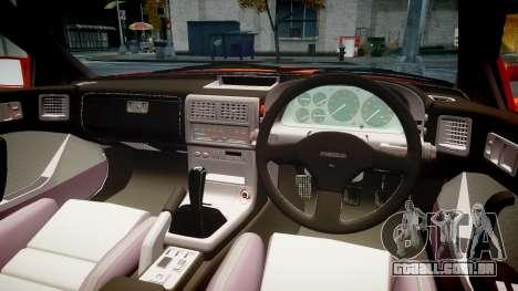 Mazda RX-7 1990 FC3s [EPM] para GTA 4 vista interior