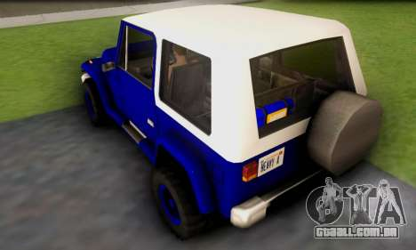 Messa Off-Road Styling pack v1 para GTA San Andreas traseira esquerda vista