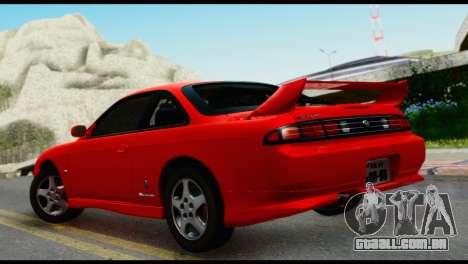 Nissan Silvia S14 Ks para GTA San Andreas esquerda vista