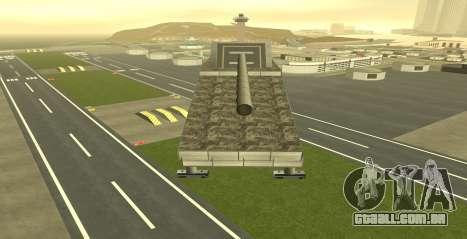 Landkreuzer P. 1500 Monster for GTA San Andreas para GTA San Andreas