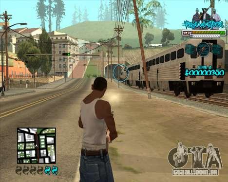 C-HUD for Aztecas para GTA San Andreas terceira tela