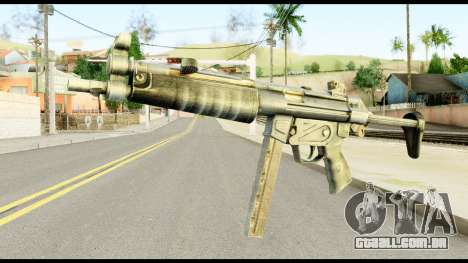 MP5 com Decomposta Bunda para GTA San Andreas