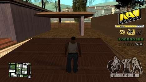 C-HUD NAVI para GTA San Andreas segunda tela