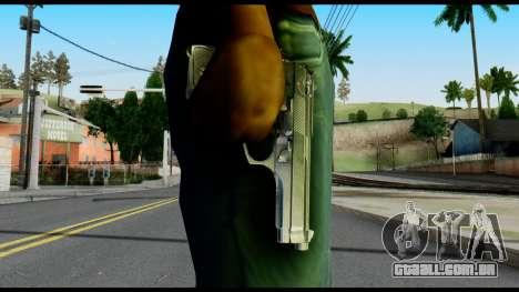 Beretta from Max Payne para GTA San Andreas terceira tela