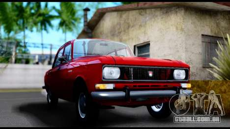 Moskvich 2140 para GTA San Andreas traseira esquerda vista
