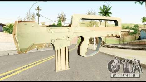 Famas from Metal Gear Solid para GTA San Andreas segunda tela