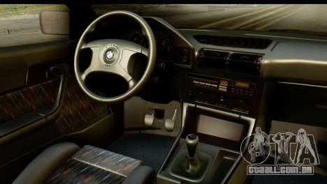 BMW M5 E34 Alpina para GTA San Andreas vista direita