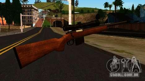 Rifle from GTA 4 para GTA San Andreas segunda tela