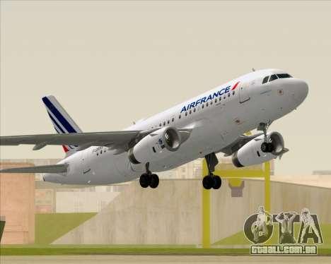 Airbus A319-100 Air France para GTA San Andreas