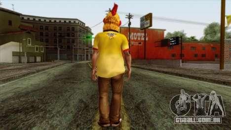 GTA 4 Skin 86 para GTA San Andreas segunda tela