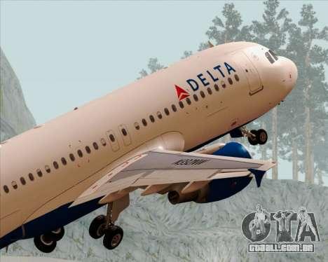 Airbus  A320-200 Delta Airlines para o motor de GTA San Andreas