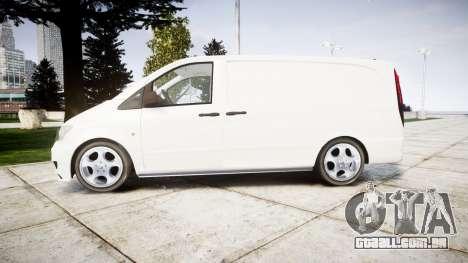 Mercedes-Benz Vito GIGN [ELS] para GTA 4 esquerda vista