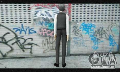 Kaneki Ken (Tokyo Ghoul) para GTA San Andreas terceira tela