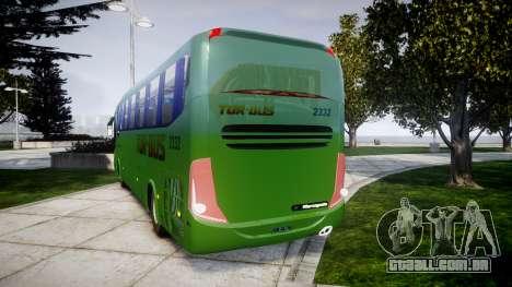 Marcopolo Paradiso G7 1200 para GTA 4 traseira esquerda vista
