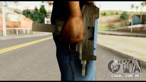 New Micro SMG para GTA San Andreas terceira tela