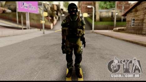Support Troop from Battlefield 4 v1 para GTA San Andreas