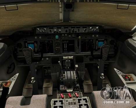Boeing 737-800 Air Philippines para GTA San Andreas interior