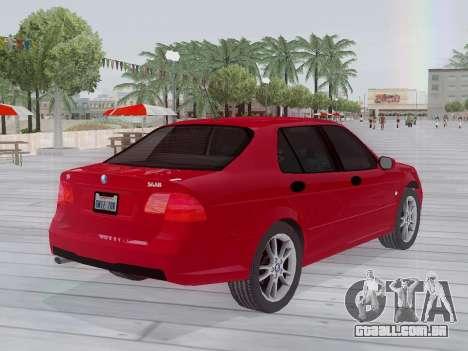 Saab 95 para GTA San Andreas vista traseira